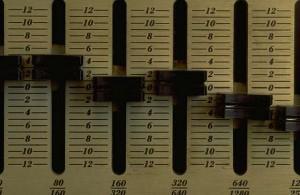 music mixer board