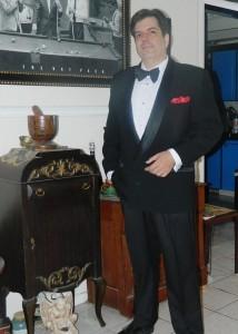 DJ Riff always dresses to impress