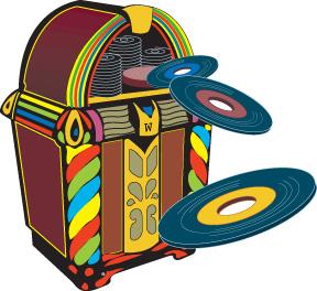 1950s doo wop   early rock  u2019n u2019 roll dance party dj 1960s clip art 1950s clip art free